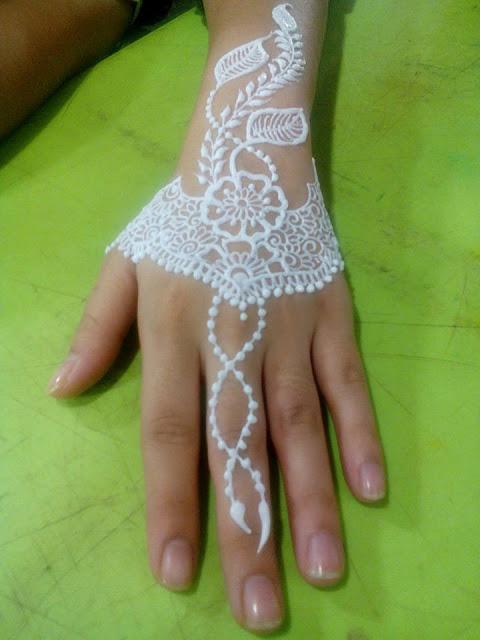 Colored Henna Tattoo
