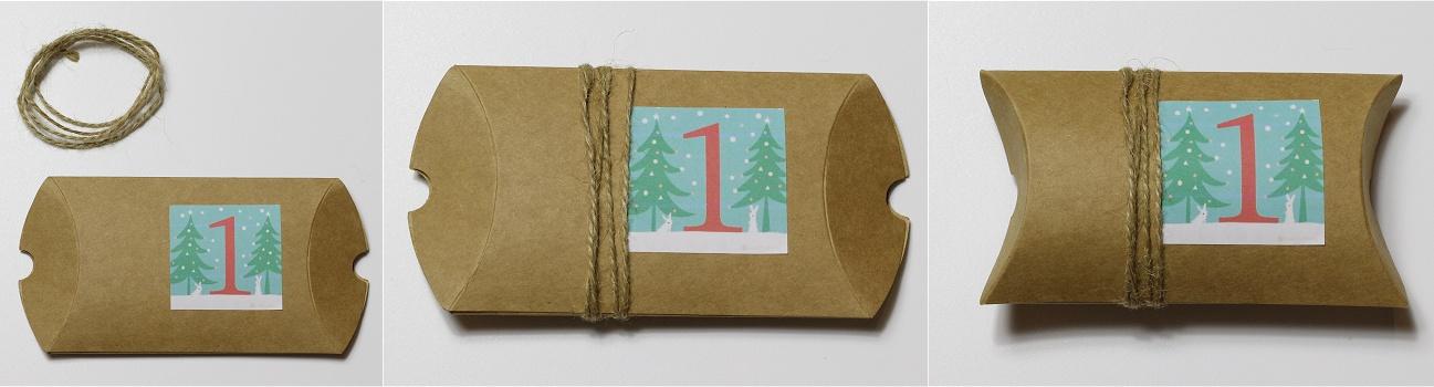 Adventskalender aus Geschenkschachteln Anleitung 3
