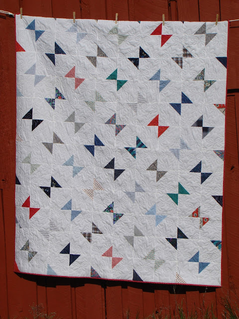 Geese in the Corner memory quilt