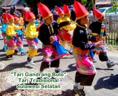 tari tradisional sulawesi selatan
