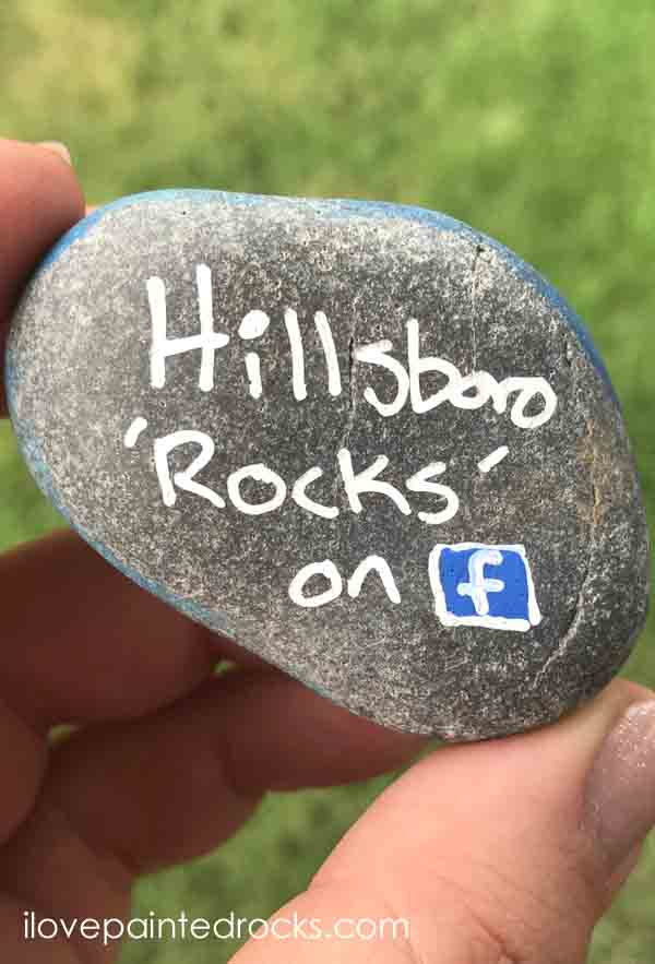 what to do if you find a painted rock