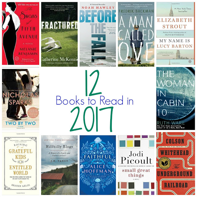 12 Books to Read in 2017 || The Chirping Moms