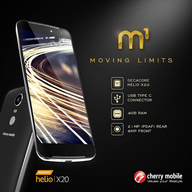 Cherry Mobile M1 Announced, Helio X20 Processor, 4GB RAM in Tow for PHP 11,999