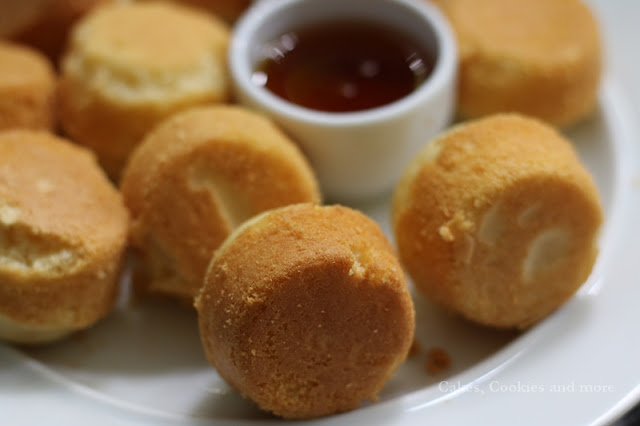 Pancake Bites - Mini Pancake Muffins