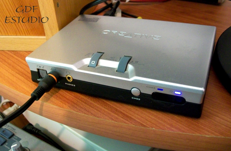 How to get the creative sound blaster live! Model ct4780 sound.