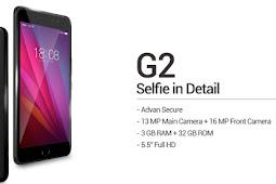 Review Advan G2, smartphone dengan kamera Selfie 16 Mpix