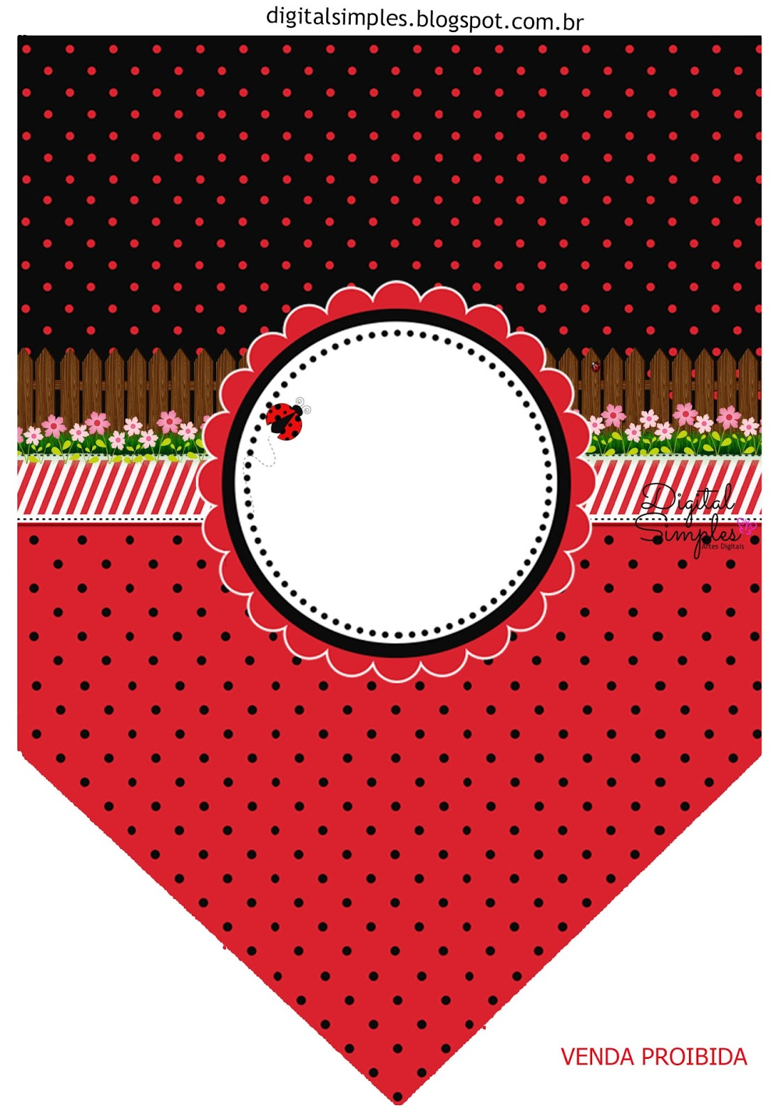 Ladybugs Free Party Printables