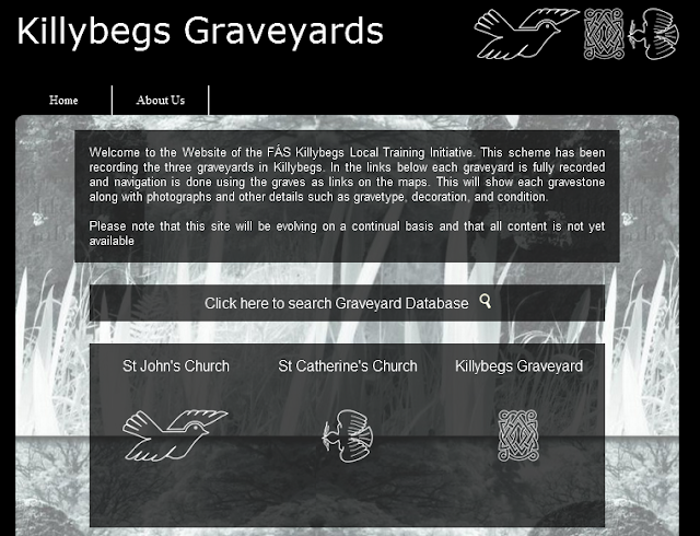 Killybegs Graveyards Website