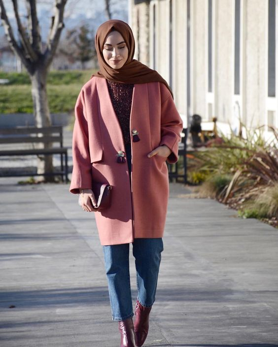 See How Hijabis Styled Their Hijab Outfits For Winter Hijab