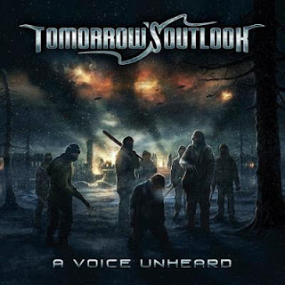 "Tomorrow's Outlook - ""Nothing Shall Remain"" (lyric video) from the album ""A Voice Unheard"""