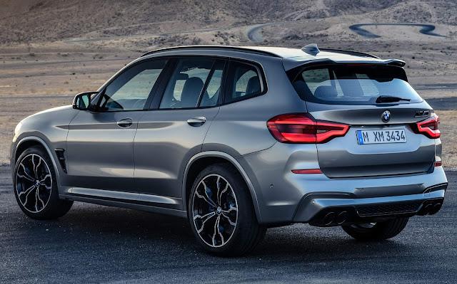 Novo BMW X3 M 2020