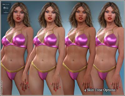 EJ Brenda Deluxe Pack For Genesis 8 Female