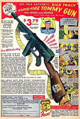 Dick Tracy Rapid-Fire Tommy Gun