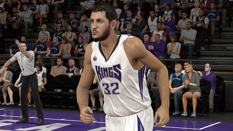 "NBA 2K15 Roster Update - 7'5"" Sim Bhullar Added to Kings"