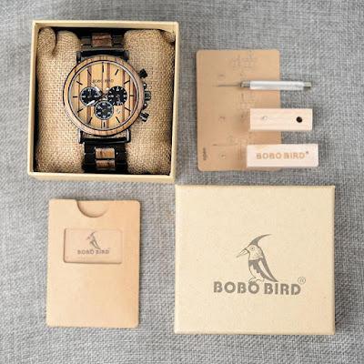 V-P09 BOBO BIRD Watches| 5 Summer Wood Watches Under $50