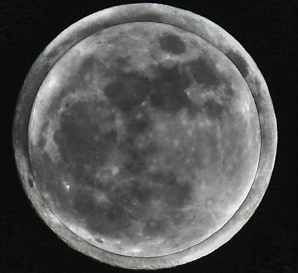 ظاهرة القمر العملاق