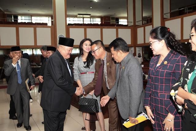 Gubernur Sumsel Sampaikan Pendapat Akhir Terhadap 6 Raperda