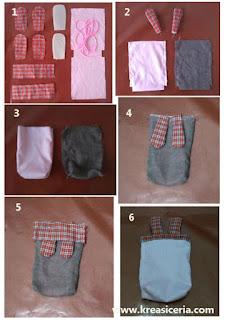 Tutorial cara membuat kantong serut berbahan kain flanel