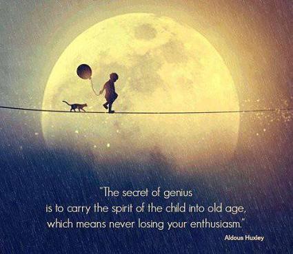 genius enthusiasm quote