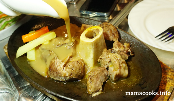 Stow Away Restobar - Bacolod restaurant - sizzling bulalo