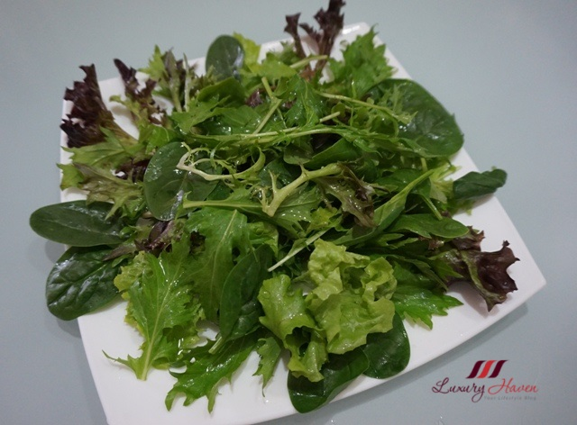 healthy eating hussey mesclun salad baby spinach recipe