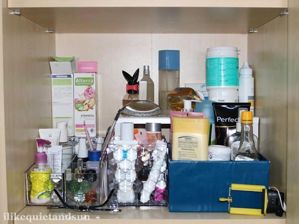 Porządki w kosmetykach do pielęgnacji