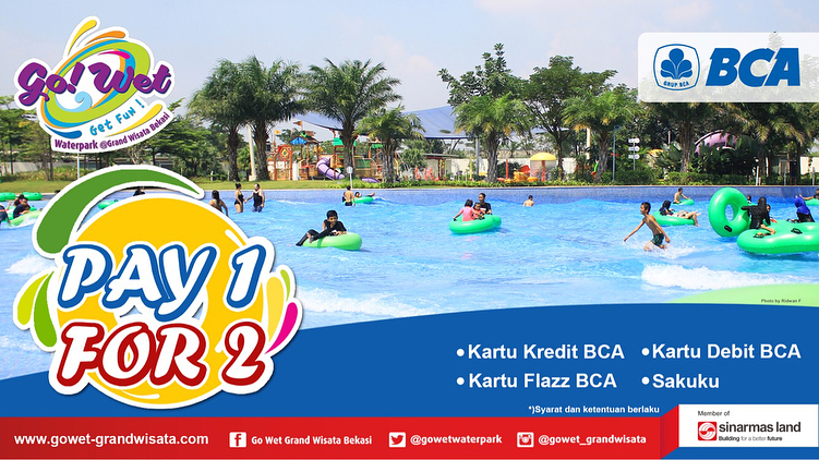 GO WET - Promo Lengkap (Bank, Weekend, Weekday) di Bulan Juli 2018