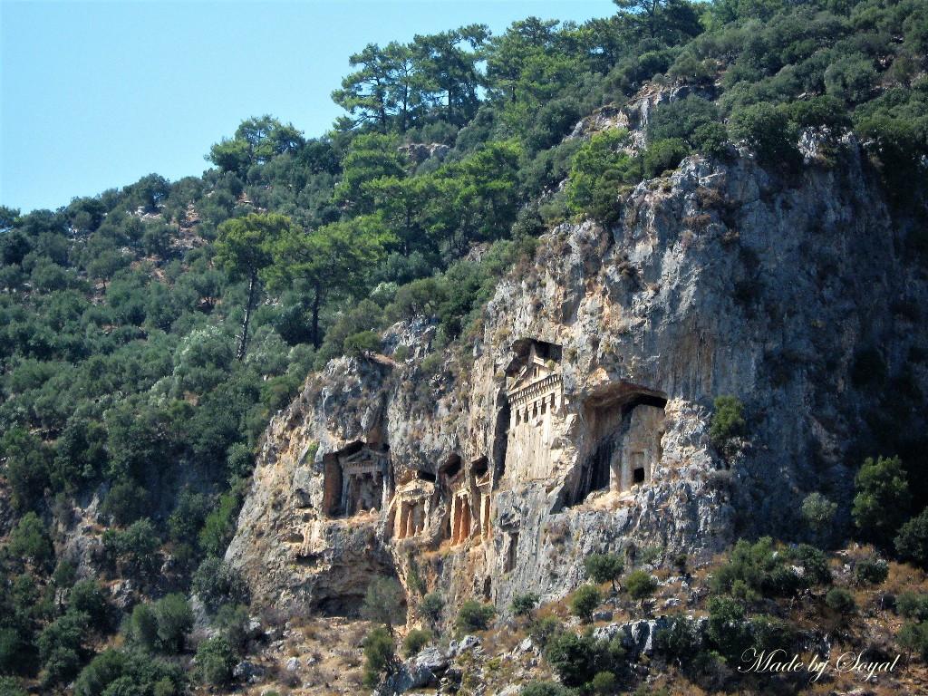 likijskie grobowce