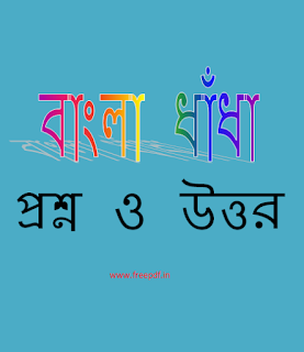Bangla Dhadha PDF Question and Answer
