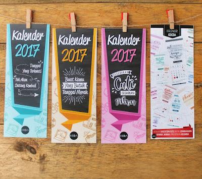 Kalender Kekida Gantung 2018