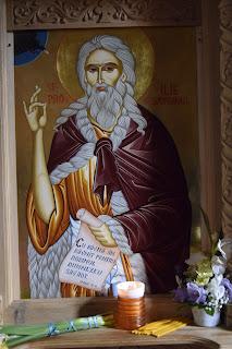Sfântul Slăvitul Proroc Ilie Tesviteanul, Hramul Manastirii Nuseni, jud Bistrita-Nasaud