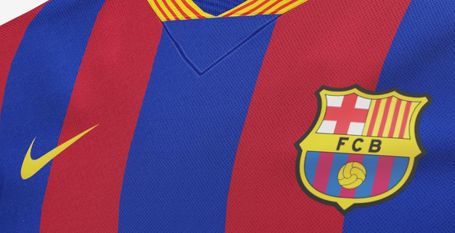 2bf5e399770 Inspired by the recently introduced Nike FC Barcelona American football  jersey