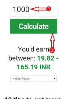 Youtube earn calculate