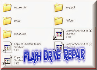 Remove Shortcut Folder Virus From USB Drive with Shortcut Virus remover 3.1