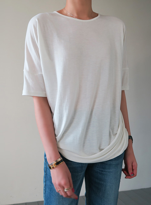 Plain Ivory Shirt