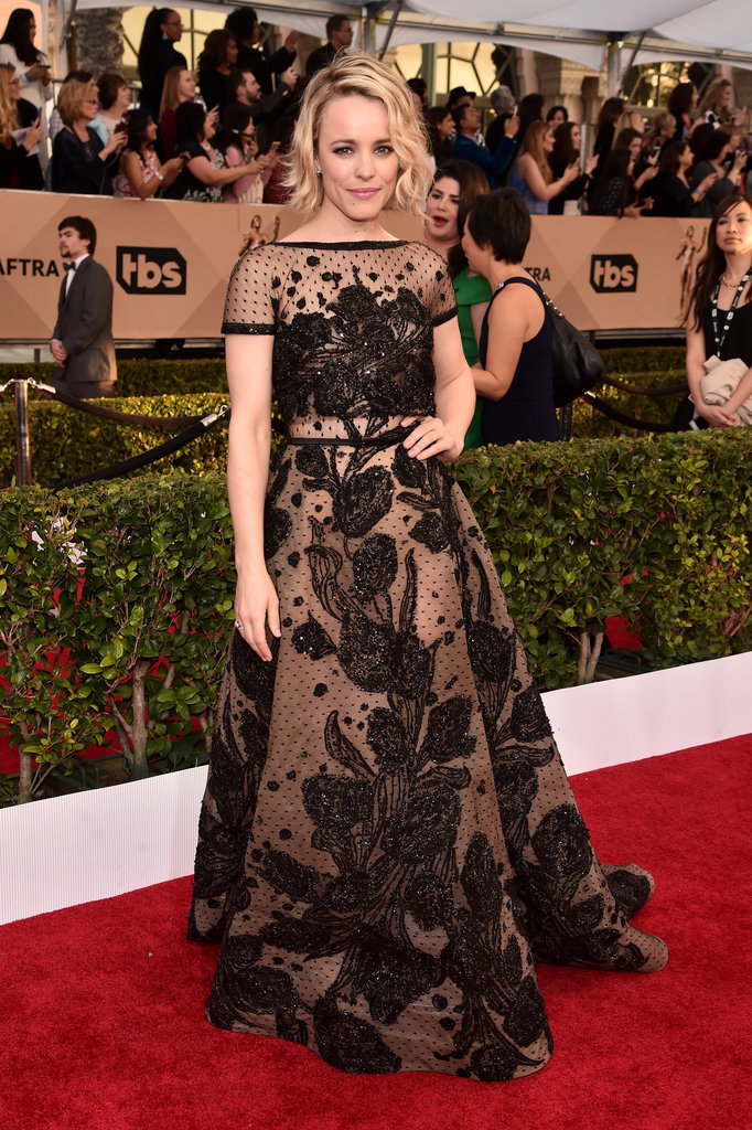 Best Dressed-SAG Awards 2016, Rachel McAdams at SAG Awards 2016