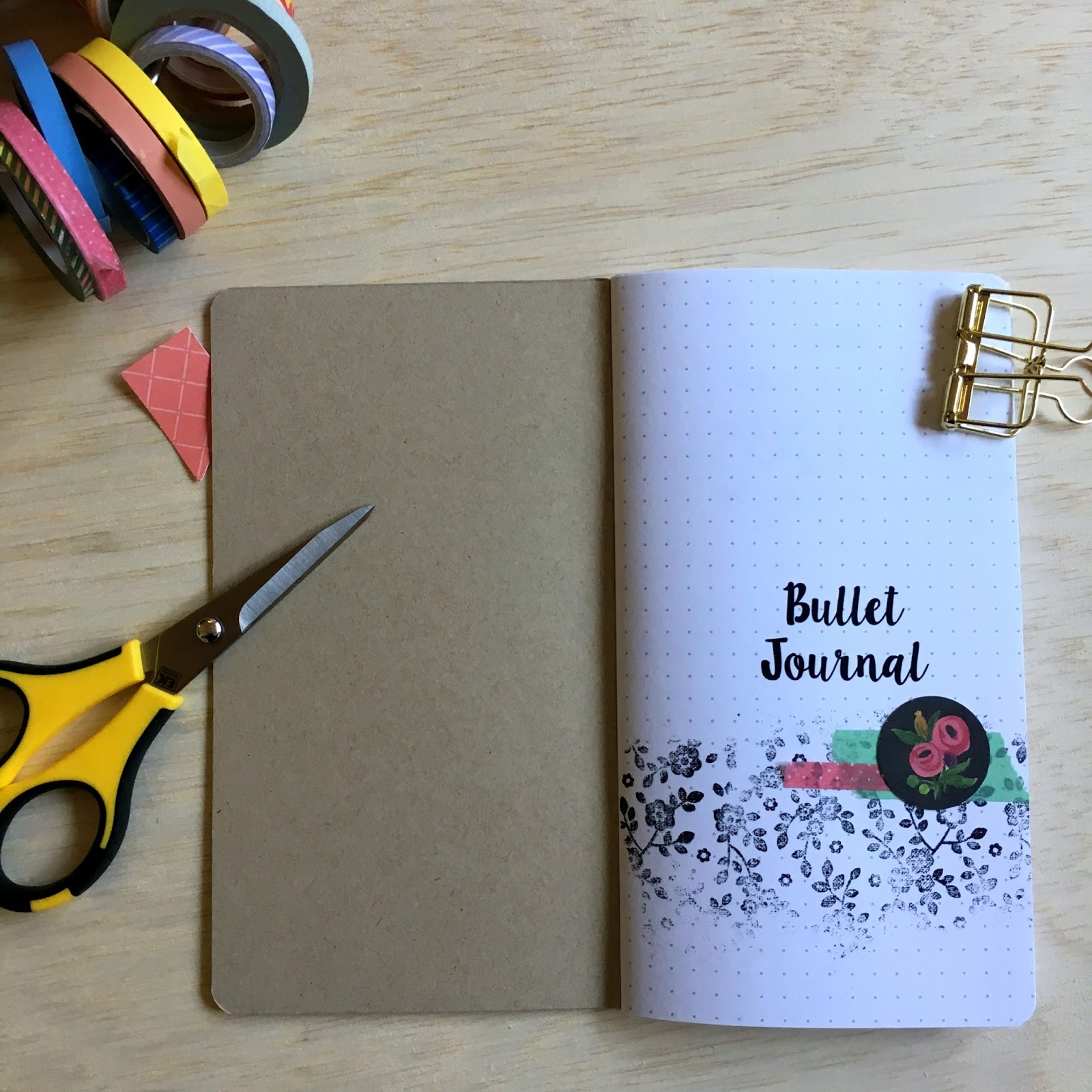 Seemownay April Lilli Design Team Decorating A Traveler S Notebook