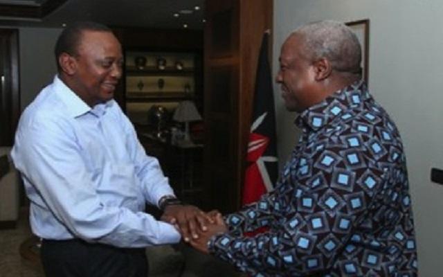 Did Ghana Grab Kenya's President Uhuru Kenyatta?