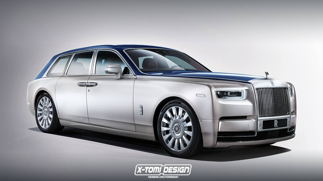 2018 rolls royce suv rendered 2016 new best cars - A Rolls Royce Phantom Wagon Doesn T Look As Strange As You D Think
