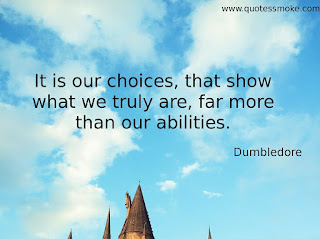 Wisdom Quote by Dumbledore