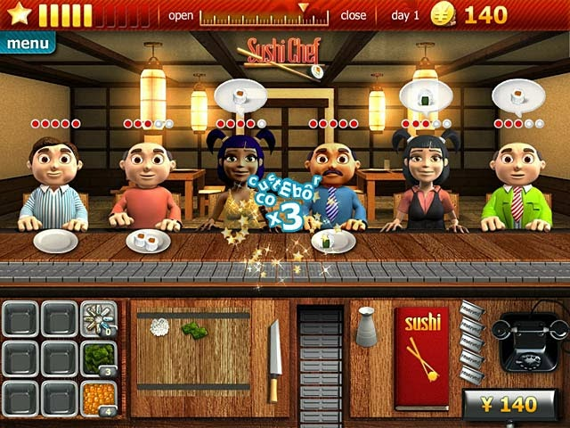Youda Sushi Chef , เกม, เกมส์, เกมทำขนม, เกมส์ทำอาหาร, เกมส์ทำอาหารน่าเล่น, เกมเสิร์ฟอาหาร, เกมปิ้งย่าง, เกมทำไอศครีม, เกมทำแฮมเบอร์เกอร์, เกมทำเครื่องดื่ม