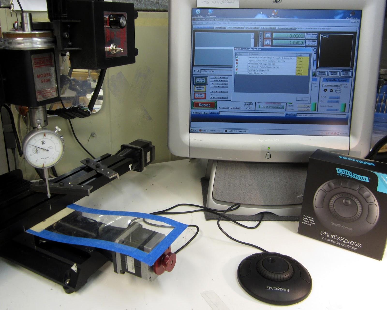 Mi Shop Tools Inventions Sherline Cnc Mach3