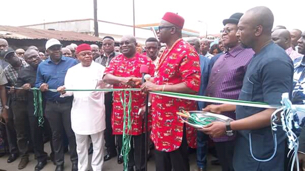 Fayose:Ikpeazu is a man of Destiny  ...as he commissioned project in Abia