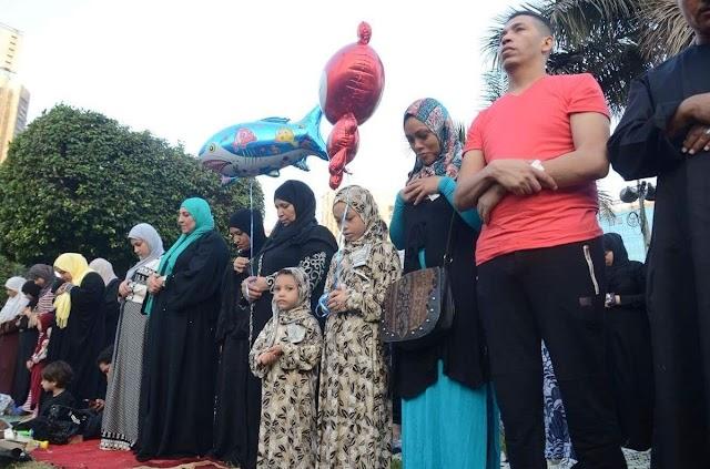 #مصر : حكم اختلاط الرجال والنساء في صلاة العيد