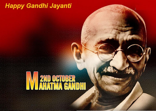 Gandhi Jayanti Special>> A Must Go Weekend Events