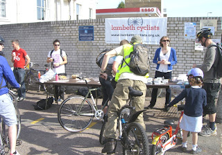 Lambeth Cyclists Bike Breakfast
