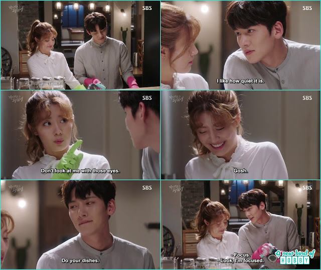 ji wook become all lovey with bong hee - Suspicious Partner: Episode 19 & 20 korean Drama
