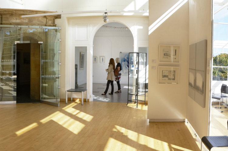 The gallery at Woodend