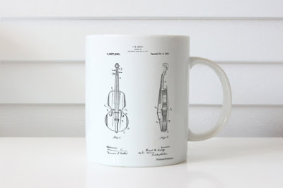 Violin Patent Cup