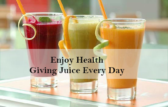 Enjoy Health-Giving Juice Every Day